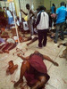 Photos: At least 73 people killed after a bus collided with a truck in Ghana