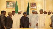 Buhari, Osinbajo, Saraki, Dogara meet to end budget impasse