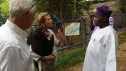 Obasanjo donates a chimpanzee named 'Patience' to a non-profit animal conservation organisation