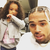 Chris Brown's daughter surprises him for his birthday