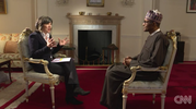 Fantastically corrupt: David Cameron is being honest in his comment- Buhari tells CNN