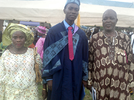 Photo: Son of a security guard emerges LASU's Best graduating student