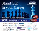 Meet with over 25 University Delegates from the UK, USA and Australia @the BCIE Edufair 2016
