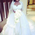 Front and back view of Tolu Oniru's stunning wedding dress