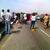 Graphic footage from the scene of the accident on third mainland bridge yesterday