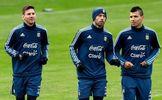 Argentina stars Sergio Aguero and Javier Mascherano follow Lionel Messi in quitting international football