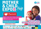 Mumsworld sponsors mother and child expo Abuja..... Countdown!