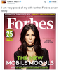 'Very proud of my wife' - Kanye West praises Kim K for her cover of Forbes Magazine