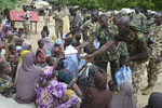 Photos: Troops rescue 38 women, 42 children from Boko Haram captivity