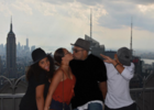 Divorced Gospel singer Israel Houghton shares a kiss with his gf, Adrienne Bailon (photo)