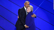 'There's never been a man/woman more qualified than Hillary Clinton to serve as US President'-Read Obama's full speech at the DNC