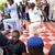 Photos of Gov. Oshiomole at an APC rally in Benin