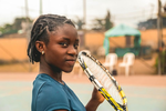 Photos: 11 year old Nigerian female Tennis star, Marylove Edwards emerges No.3 in Africa
