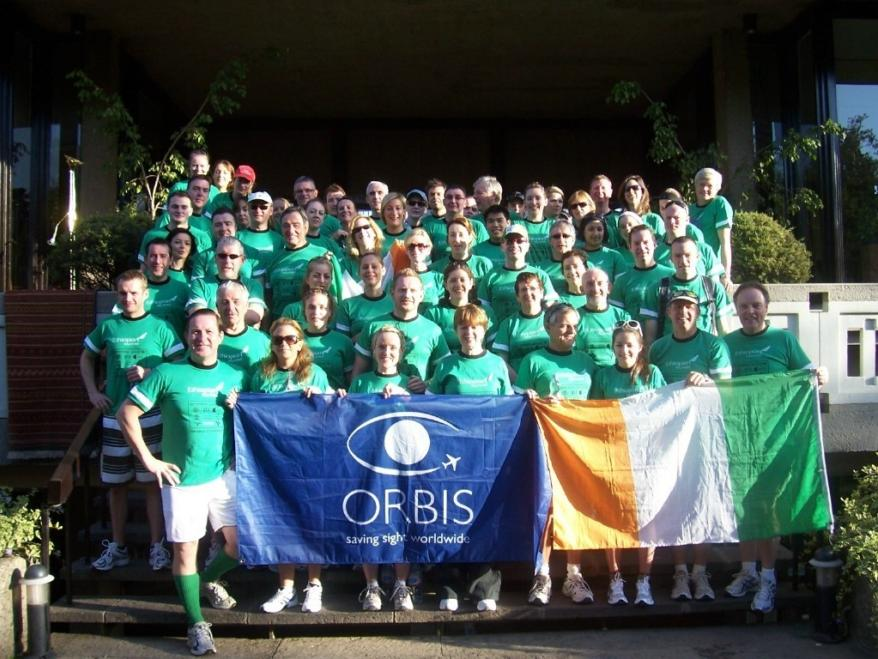 Orbis Ireland take part in the Great Ethiopian Run 2008.