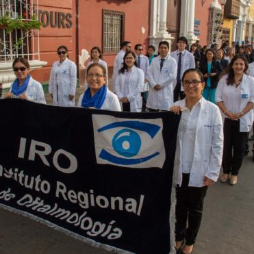 Flying Eye Hospital program in Peru.