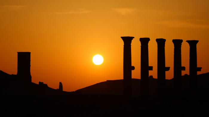Syria Sunset