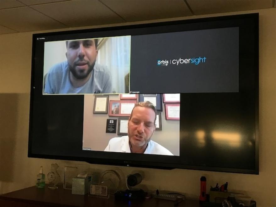 A Cybersight live video consultation