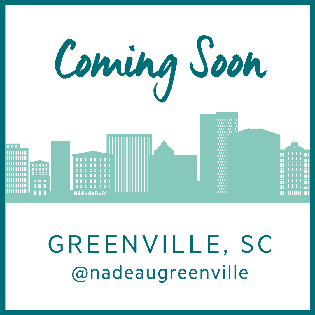 Follow us for updates @nadeaugreenville
