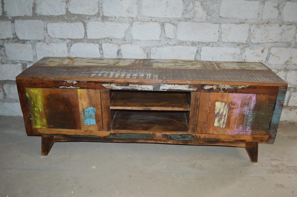 Genial Reclaimed Wood Tv Stand