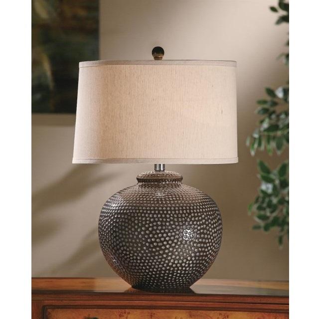Hammered Table Lamp Nadeau Marietta