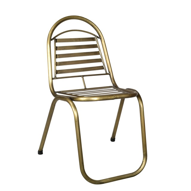 Ordinaire Brass Chair
