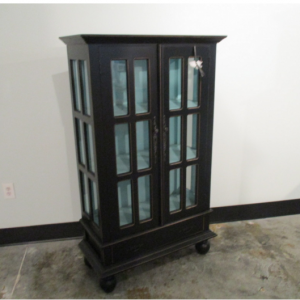 Small Gothic Cabinet With Bun Feet