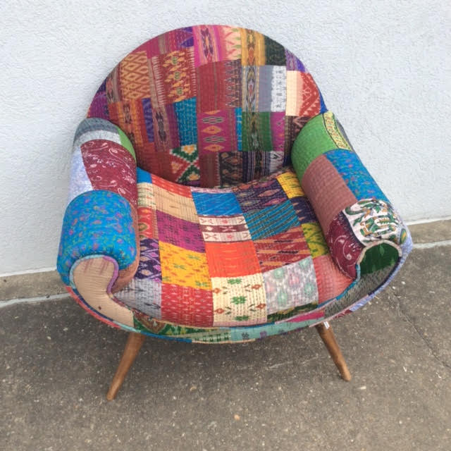 Awesome Recycled Sari Chair Machost Co Dining Chair Design Ideas Machostcouk