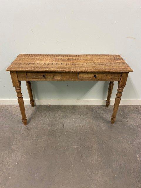 turned leg console table  nadeau baton rouge