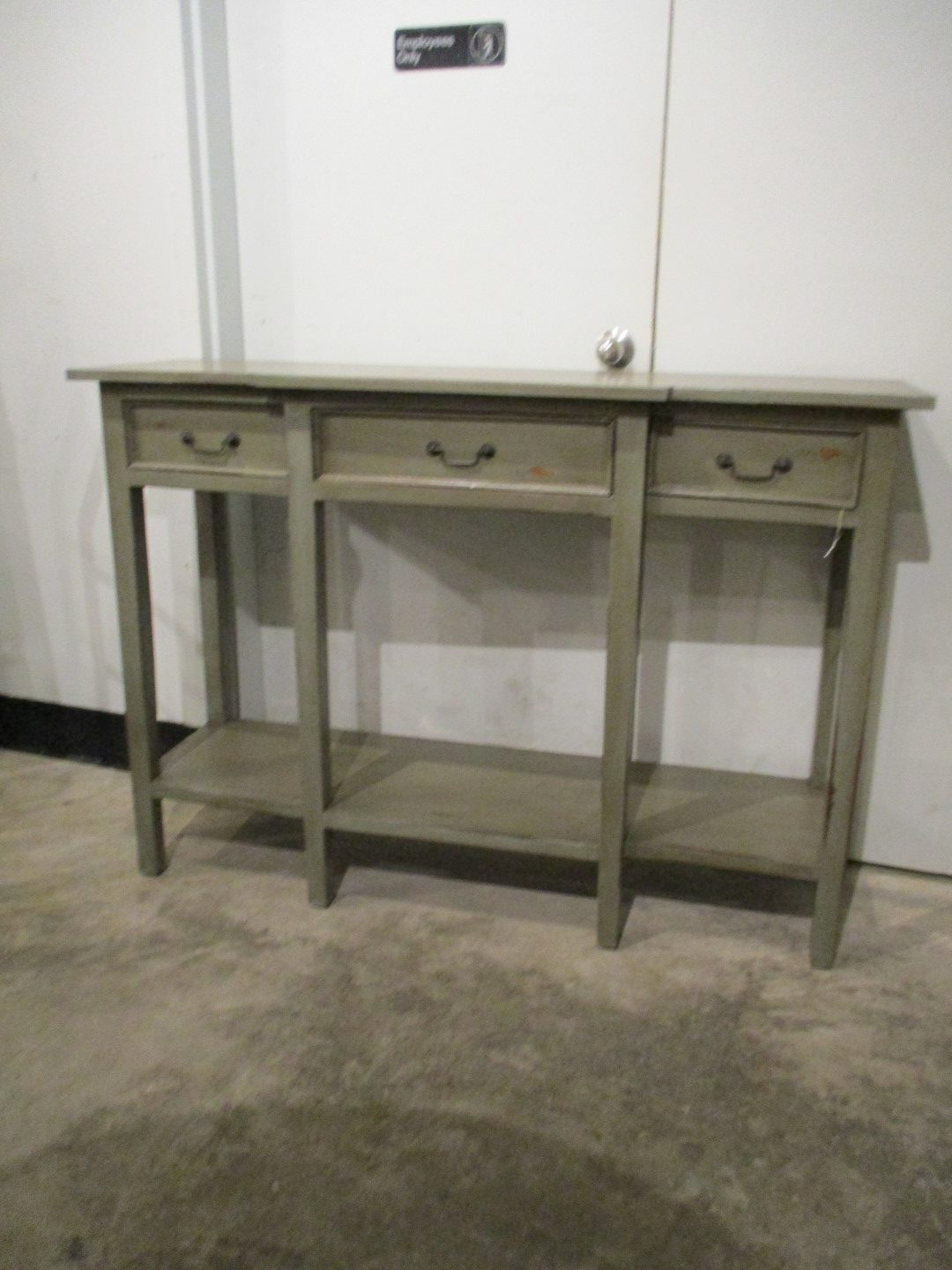 Picture of: Narrow Console Table Tall Nadeau Charleston
