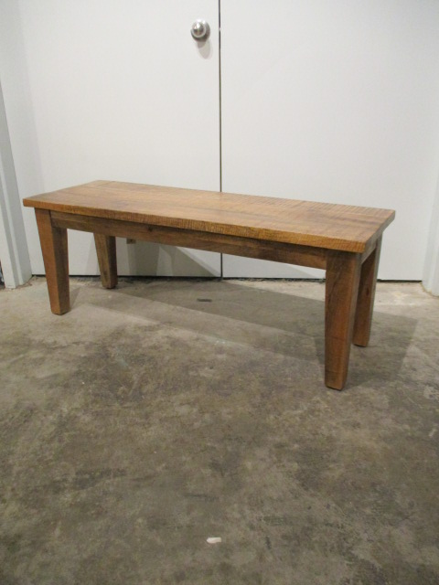 Groovy Wood Bench With Tapered Leg Caraccident5 Cool Chair Designs And Ideas Caraccident5Info
