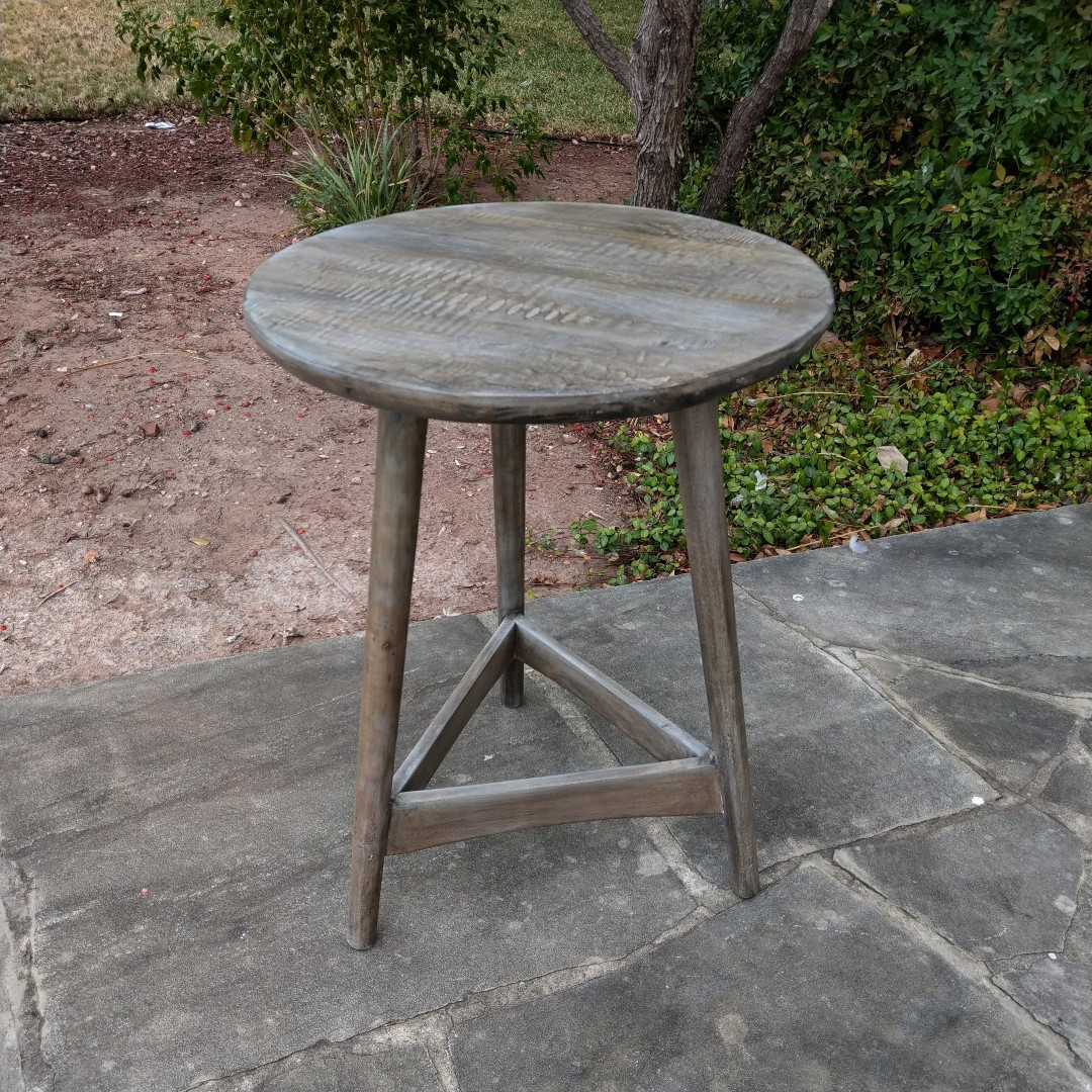Round Side Table Nadeau Charleston