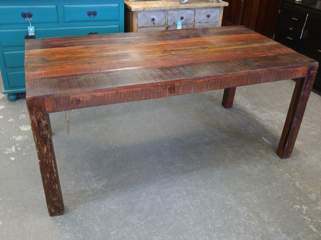 Reclaimed Wood Dining Table Nadeau Charlotte