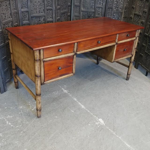 Bamboo Desk Nadeau Charlotte