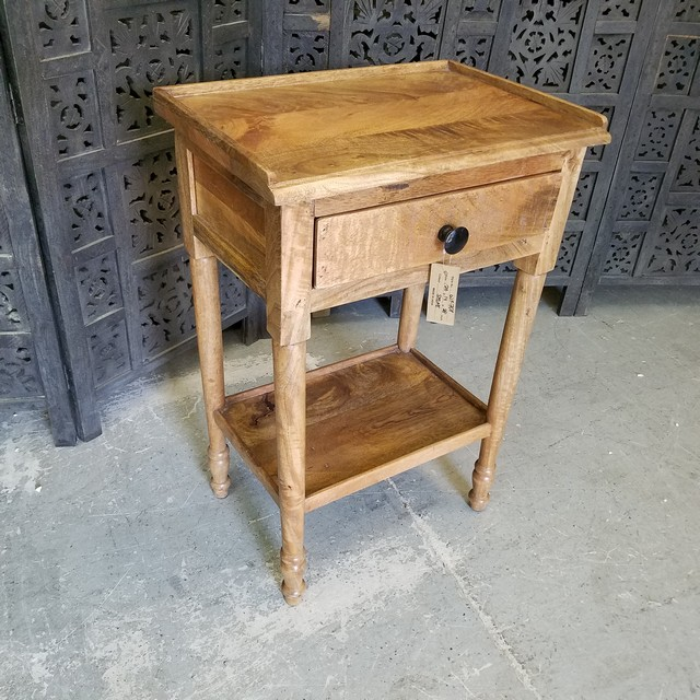 Side Table With Single Drawer Nadeau Charlotte