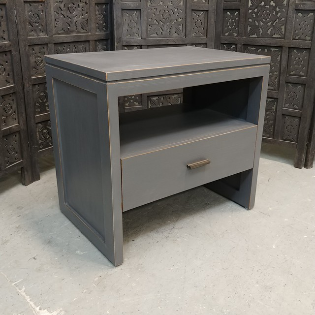 Single drawer bedside table nadeau charlotte single drawer bedside table watchthetrailerfo
