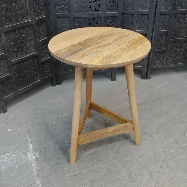 Round Side Table Nadeau Charlotte
