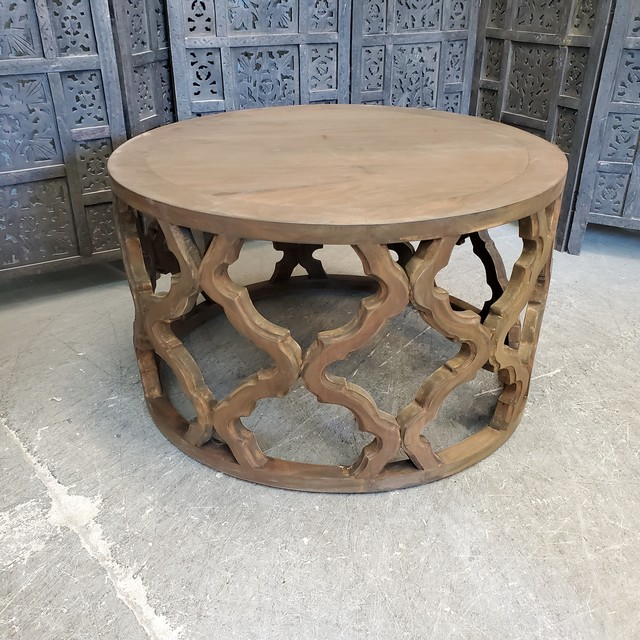 Round Coffee Table Nadeau Charlotte