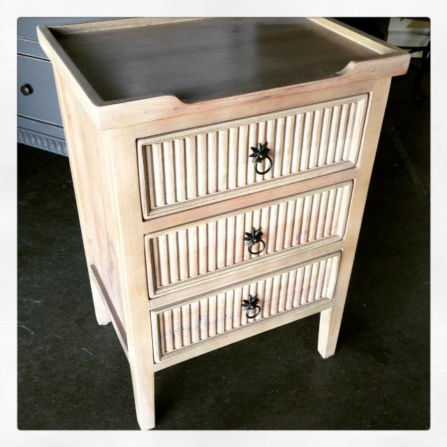 Dfw Furniture Pittsburgh: Beaded Three-Drawer Dresser