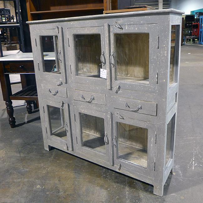 Glass Door Cabinet Nadeau Dallas