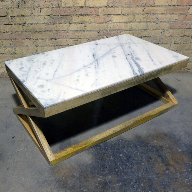 13b5eefb0a Marble Top Coffee Table - Nadeau Dallas