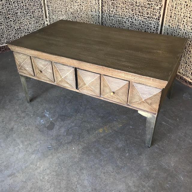 36ac1770595f8 Iron Leg Coffee Table - Nadeau Dallas