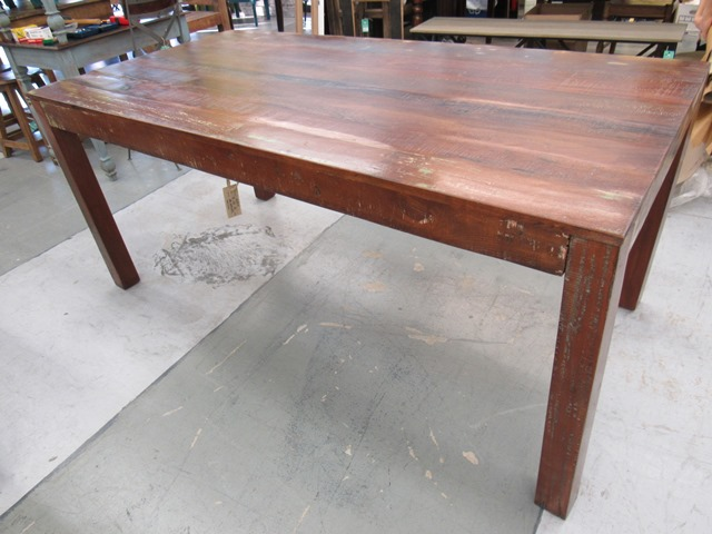 Beau Reclaimed Wood Dining Table