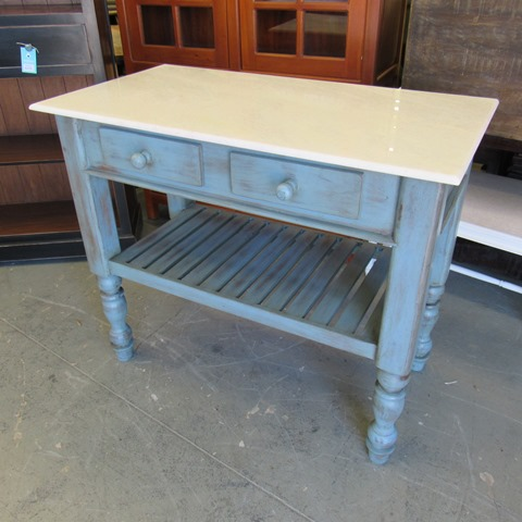 Kitchen Island With Natural Stone Top Nadeau Houston