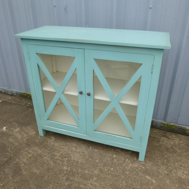 Glass Front Buffet With Two Doors Nadeau Houston