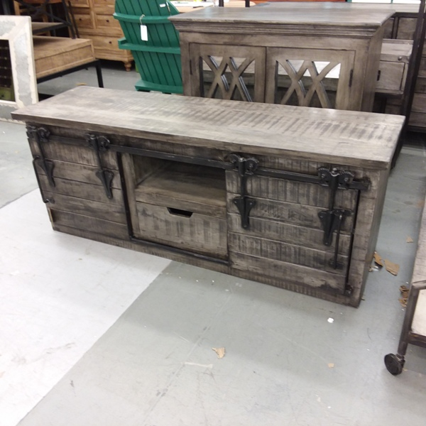 Barn Door Tv Stand Nadeau Houston