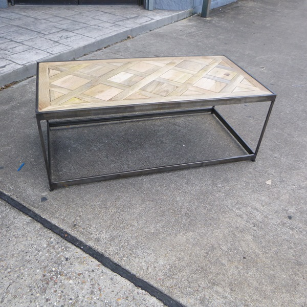 Superbe Parquet Coffee Table