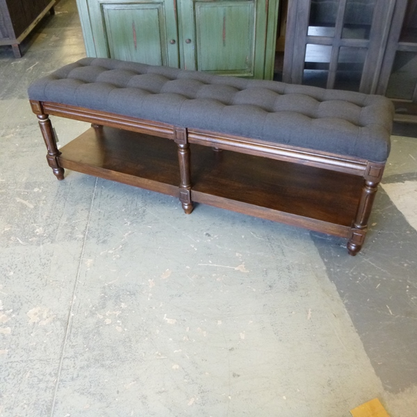 Tufted Bench Nadeau Houston