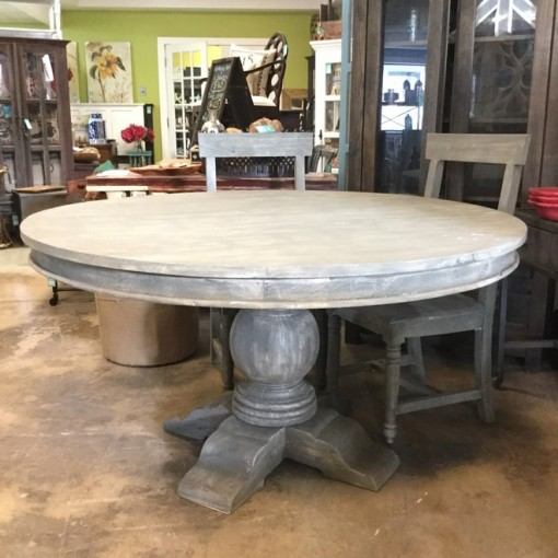 58 Quot Round Dining Table Nadeau Nashville