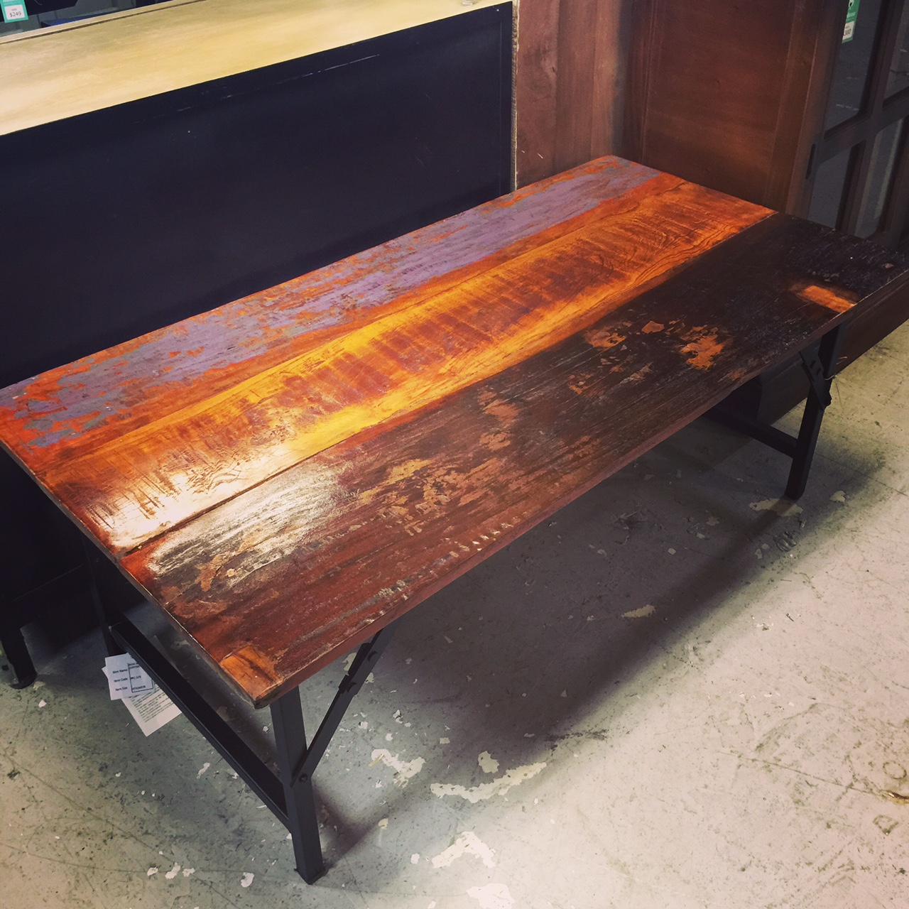 Beau Reclaimed Wood Coffee Table