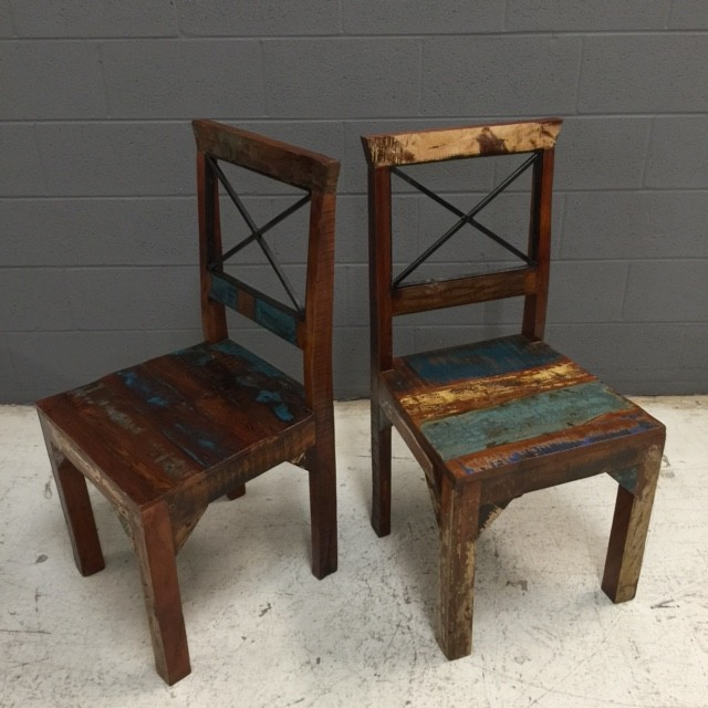 Reclaimed Wood Chair